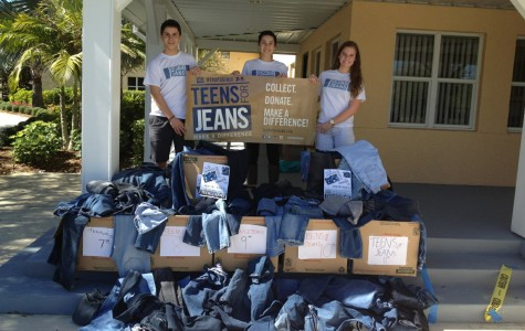 Teens for Jeans Breaks School Record