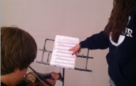Upperclassman Finds Surprising Lessons in Teaching Violin