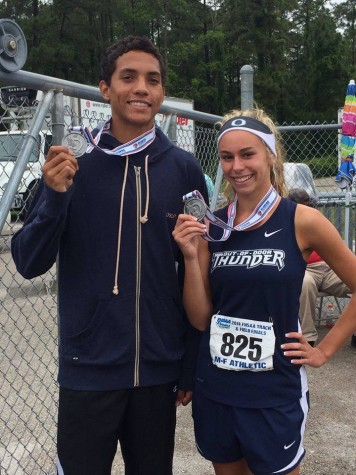 Madison Shaw and Tre Gregory Race to the Top at States