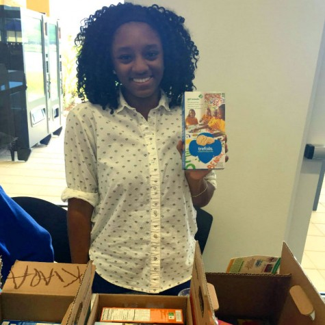 ODA Students Devoured 10,000 Girl Scout Cookies