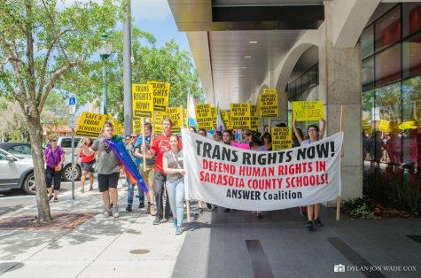 Sarasota County Marches for Transgender Rights!