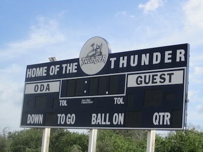 ODA Welcomes the Lions to the Thunder Den