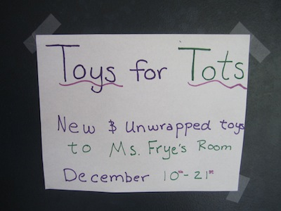 ODA Is Bringing Toys for the Tots