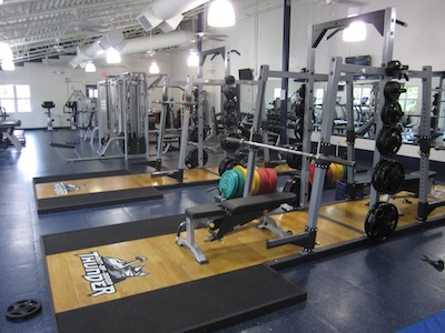 Students Bulk Up in the Gelbman Fitness Center