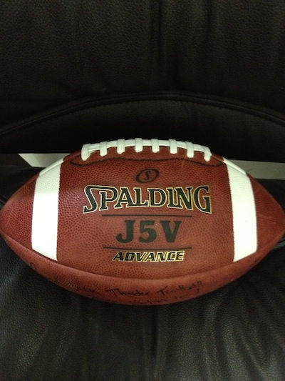 Football Springs into Practice!