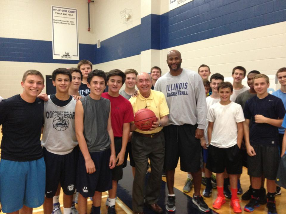 Varsity Basketball 2013 with special guest Dick Vitale!