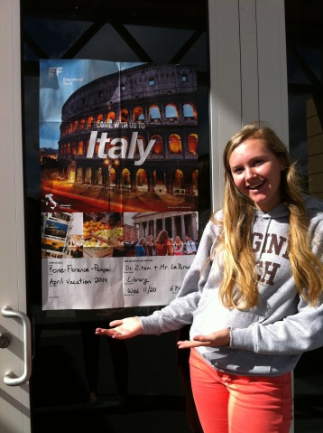 ODA Students Say Ciao to Italy