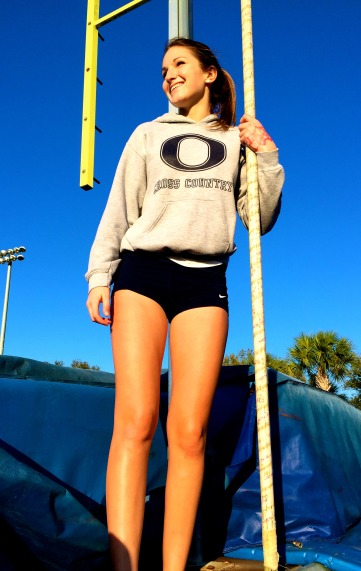 Chloe Ruppert, Beginner Pole Vaulter