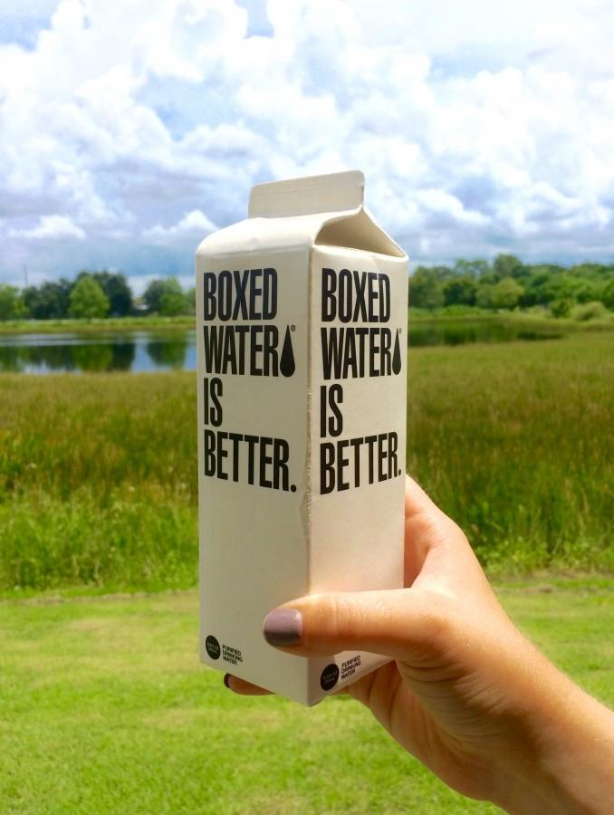 Avoiding plastic water bottles? Boxed Water is one of the many solutions.